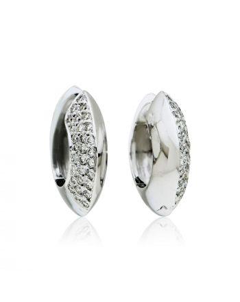 Σκουλαρίκια Κ18 με Διαμάντια 004380
