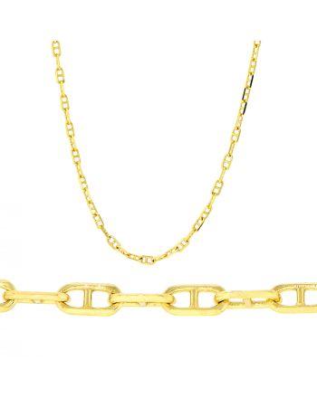 Αλυσίδα από Κίτρινο Χρυσό 14 Καρατίων 005110