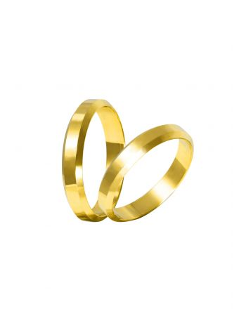 Βέρες Γάμου από Χρυσό 006804
