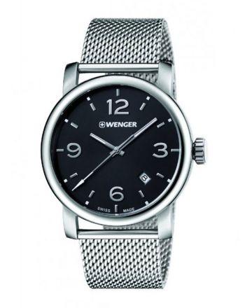 Ρολόι Wenger Urban Metropolitan Quartz από Ανοξείδωτο Ατσάλι 01.1041.124