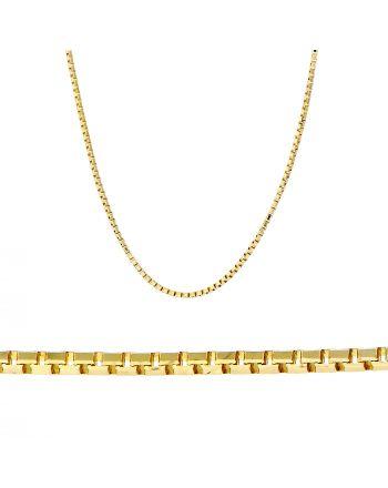 Γυναικεία Αλυσίδα Βενετσιάνα από Κίτρινο Χρυσό 14 Καρατίων 013827