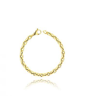 Βραχιόλι από Κίτρινο Χρυσό Κ14 034038
