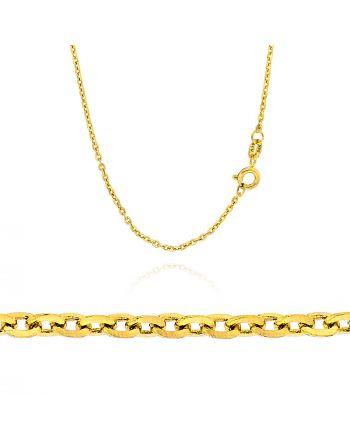 Αλυσίδα από Κίτρινο Χρυσό 14 Καρατίων 034252