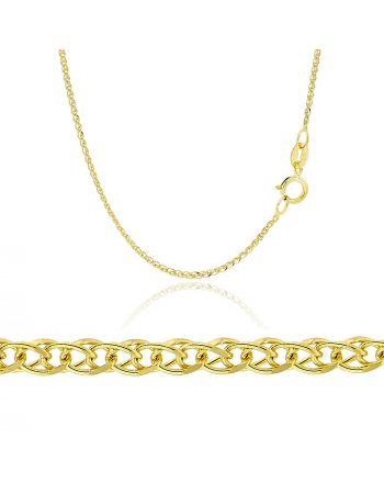 Αλυσίδα Σπίγγα από Κίτρινο Χρυσό 14 Καρατίων 035030