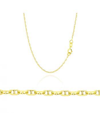 Αλυσίδα από Κίτρινο Χρυσό 14 Καρατίων 035169