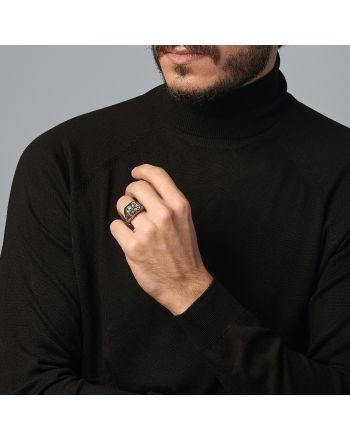Ανδρικό Δαχτυλίδι Marcello Pane από Ασήμι 925 035297