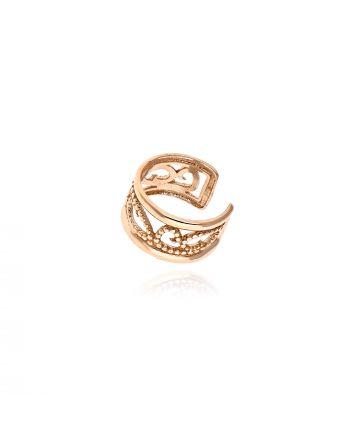 Σκουλαρίκι Ear Cuff απο Ροζ Κ09 036795