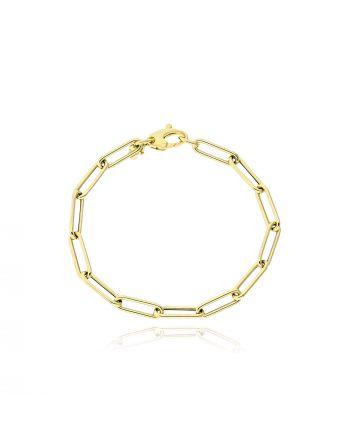 Βραχιόλι από Κίτρινο Χρυσό Κ14 038763