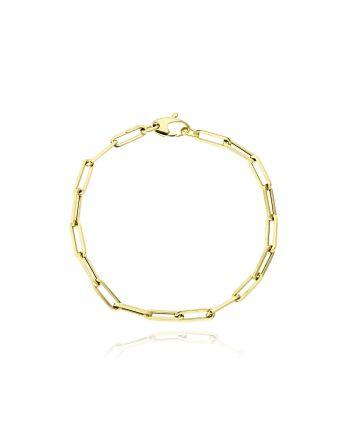 Βραχιόλι από Κίτρινο Χρυσό Κ14 038764