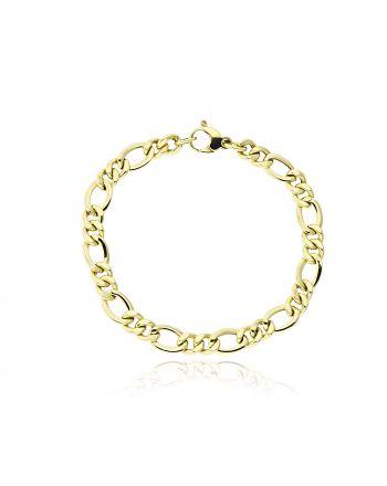 Βραχιόλι από Κίτρινο Χρυσό Κ14 038765
