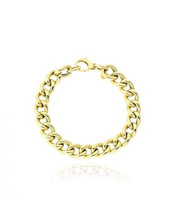 Βραχιόλι από Κίτρινο Χρυσό Κ14 038767