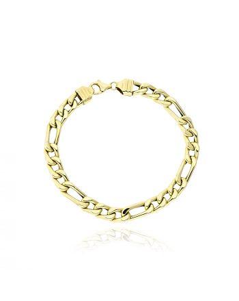Βραχιόλι από Κίτρινο  Χρυσό Κ14 038826