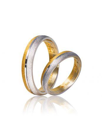 Βέρες Γάμου από Χρυσό 000107