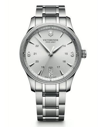 Ανδρικό Ρολόι Victorinox Alliance με Μπρασελέ απο Ανοξείδωτο Ατσάλι 241712.1