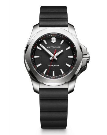 Γυναικείο Ρολόι Victorinox INOX V με Μαύρο Λουράκι απο Καουτσούκ 241768