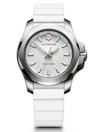 Γυναικείο Ρολόι Victorinox INOX V με Λευκό Λουράκι απο Καουτσούκ 241769