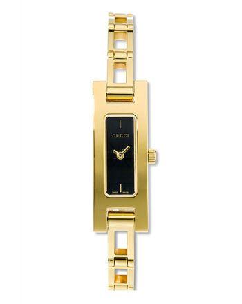 Ρολόι Gucci Quartz με Χρυσό Μπρασελέ από Ανοξείδωτο Ατσάλι 3900L
