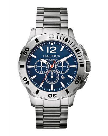 Ρολόι Nautica BFD 101 Quartz από Ανοξείδωτο Ατσάλι με Χρονογράφο A19582G