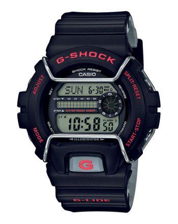 Ψηφιακό ρολόι Casio G-Shock Quartz με Δίχρωμο Λουράκι Ρητίνης GLS-6900-1ER
