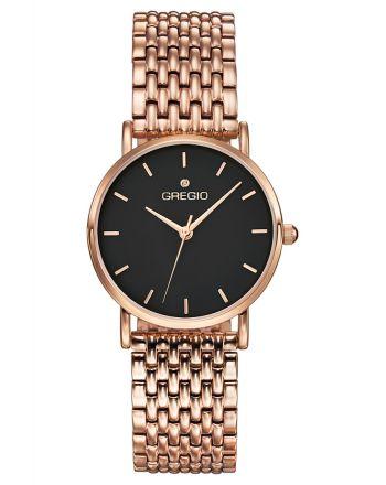Ρολόι Gregio Skive Quartz με ατσάλινο μπρασελέ GR121031