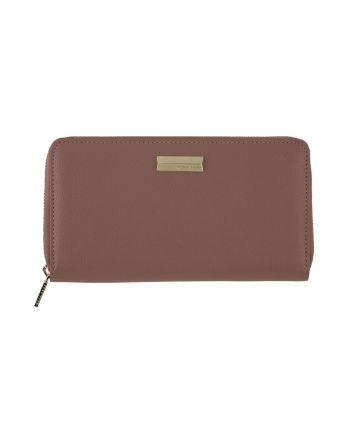 Πορτοφόλι με Notebook Hugo Boss Cover Vivid Blush σε χρώμα σάπιου μήλου HEV006X