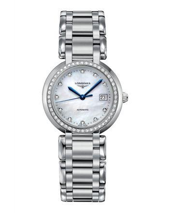 Αυτόματο Ρολόι Longines PrimaLuna με Διαμάντια L8.113.0.87.6