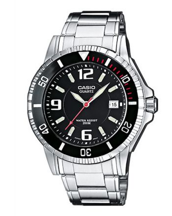 Ρολόι Casio Sports Timer απο Ανοξείδωτο Ατσάλι MTD-1053D-1AVES
