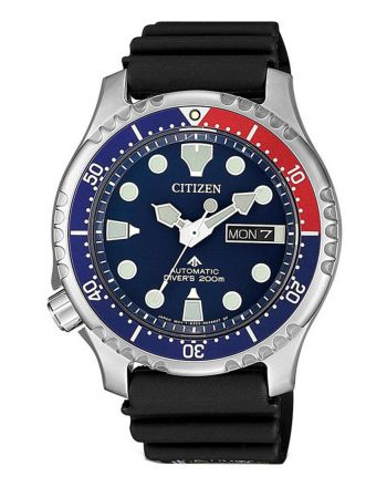 Ρολόι Citizen Promaster Diver΄s Automatic με Λουράκι από Καουτσούκ NY0086-16L