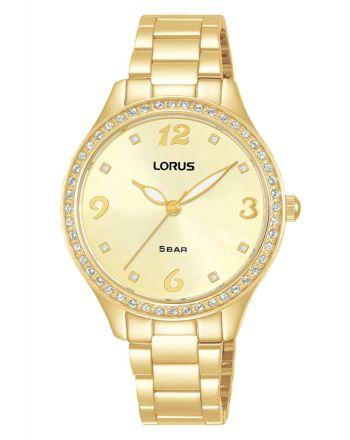 Γυναικέιο Ρολόι Lorus Quartz  από Ανοξείδωτο Ατσάλι RG234TX