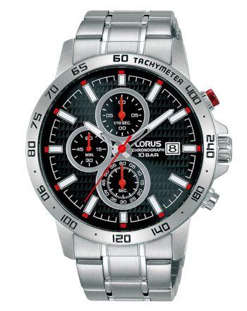 Ανδρικό Ρολόι Lorus με Μπρασελέ απο Ανοξείδωτο Ατσάλι RM303GX