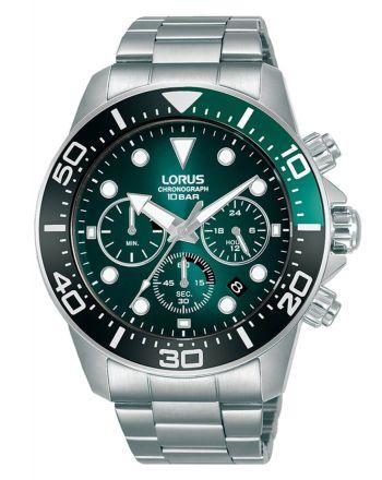 Ανδρικό Ρολόι Lorus με Μπρασελέ απο Ανοξείδωτο Ατσάλι RT341JX