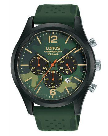 Αντρικό Ρολόι Lorus Quartz με Λουράκι από Καουτσούκ RT399HX