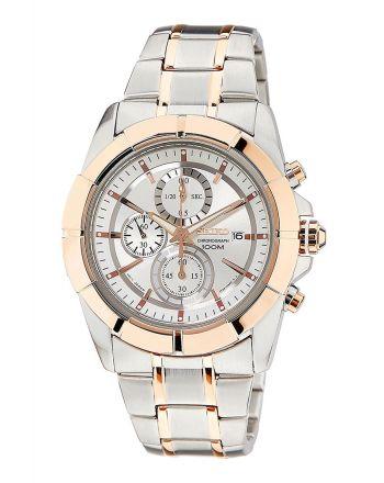 Ρολόι Seiko Quartz από Ανοξείδωτο Ατσάλι με Χρονογράφο SNDE72P1