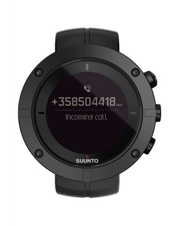 Ψηφιακό Ρολόι Suunto Kailash Carbon με Μαύρο Λουράκι Σιλικόνης SS021238000