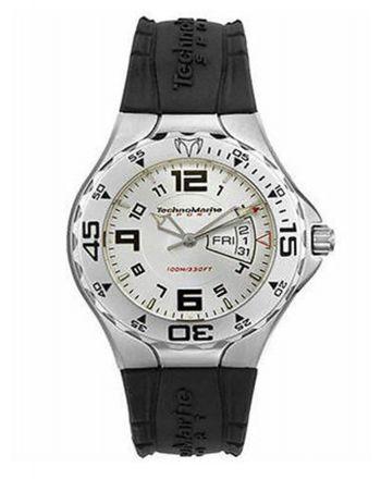 Αντρικό Ρολόι TechnoMarine Quartz με Λουράκι από Καουτσούκ TMD05