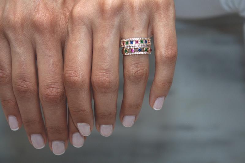 Δαχτυλίδια Rainbow