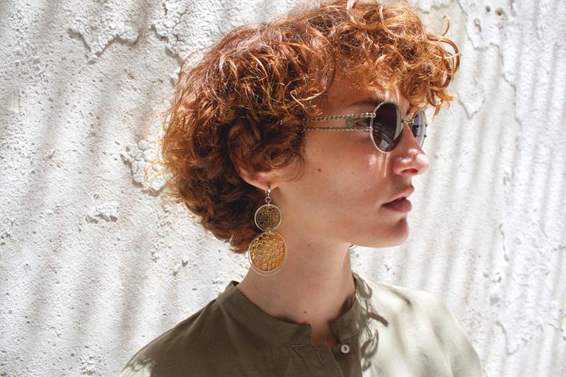 Σκουλαρίκια κρεμαστά από ασήμι