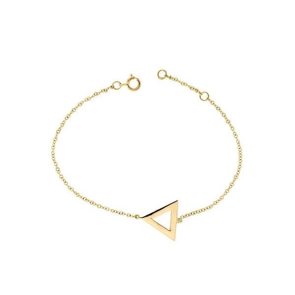 Βραχιόλι Κίτρινο Χρυσό 9 Καρατίων Κ9 031818