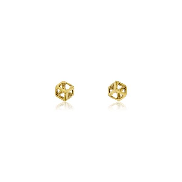 Σκουλαρίκια Κίτρινο Χρυσό 14 Καρατίων Κ14 032011