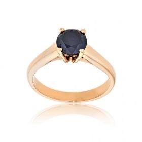 Μονόπετρο Δαχτυλίδι Val΄Oro Ροζ Χρυσό 18 Καρατίων Κ18 με Διαμάντι 033092
