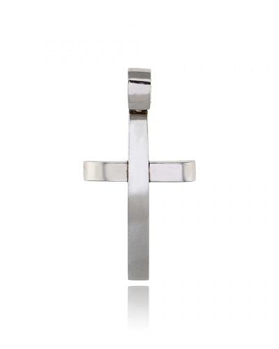 Σταυρός Βάπτισης Val΄Oro για Αγόρι από Λευκό Χρυσό Κ14 034913