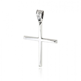 Σταυρός Βάπτισης για Αγόρι από Λευκό Χρυσό Κ14 036574