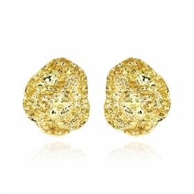Σκουλαρίκια Gabriela Rigamonti από Κίτρινο Χρυσό 14 Καρατίων 036376