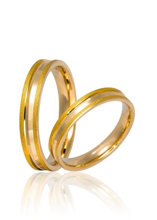 Βέρες Γάμου από Χρυσό 000548