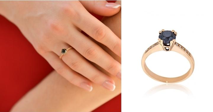 Μονόπετρο Δαχτυλίδι Val΄Oro Ροζ Χρυσό 18 Καρατίων Κ18 με Διαμάντια 033089